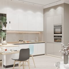 آشپزخانه by Студия авторского дизайна ASHE Home