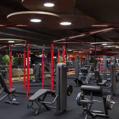 Фитнес-клуб ULTRA в Ульяновске: Коммерческие помещения в . Автор – Студия авторского дизайна ASHE Home