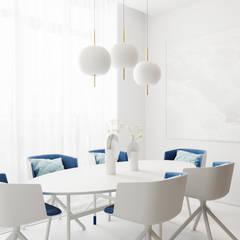 Проект АПАРТАМЕНТЫ SKY от бюро Suite n.7 : Столовые комнаты в . Автор – Suiten7