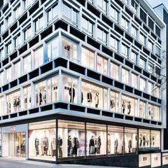 Geschäftshaus Königstraße 33:  Geschäftsräume & Stores von DITTEL ARCHITEKTEN GMBH