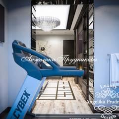 Дизайн-проект квартиры в ЖК «Эмеральд» в современном стиле : Тренажерные комнаты в . Автор – Дизайн-студия элитных интерьеров Анжелики Прудниковой