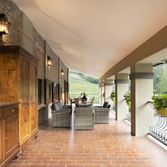 Terrasse de style  par Biondi Architetti