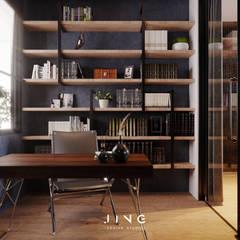 Kaohsiung 陳宅:  書房/辦公室 by 景寓空間設計