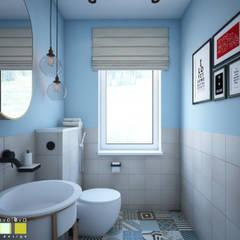 Вдали от суеты: Ванные комнаты в . Автор – Мастерская интерьера Юлии Шевелевой