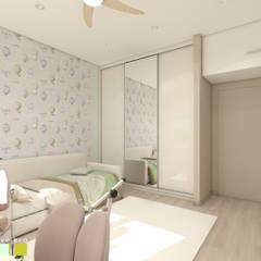 ห้องนอนเด็ก by Мастерская интерьера Юлии Шевелевой
