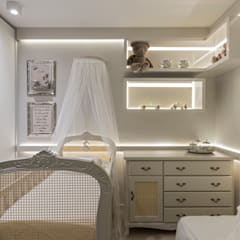 غرف الرضع تنفيذ RENATA MACHADO E ANDRÉ MAGALHÃES - ARQUITETURA E DESIGN