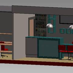 Maqueta: Estudios y oficinas de estilo  por Ponce Interiores