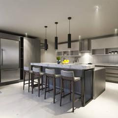 Nhà bếp by CODIAN CONSTRUCTORA