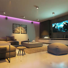 Media room by CODIAN CONSTRUCTORA