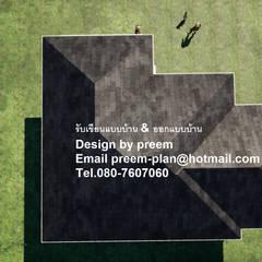 獨棟房 by รับเขียนแบบบ้าน&ออกแบบบ้าน