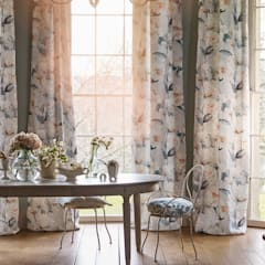 Romo Fabrics & wall coverings:  Small kitchens by Blakely Interiors