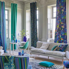 Designers Guild Fabrics & wallcoverings :  Living room by Blakely Interiors