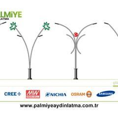 Projekty,  Budka ogrodowa zaprojektowane przez palmiye aydınlatma