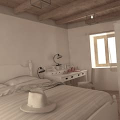 Camera da letto Master 2: Camera da letto in stile  di Ing. Massimiliano Lusetti