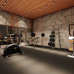 ESTILO, MODERNIDADE E SOFISTICAÇÃO: Fitness  por ►  8|H A U S  -  A R Q U I T E T U R A  ◄