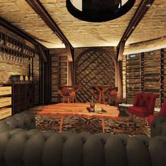 Wine cellar by ►  8|H A U S  -  A R Q U I T E T U R A  ◄