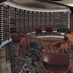 Wine cellar by ►  8|H A U S  -  A R Q U I T E T U R A  ◄