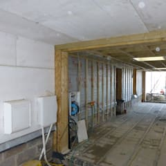 Hayling Island Project:  Prefabricated home by Building With Frames