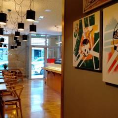 Restaurantes de estilo  por JUAN COLLAZO DISEÑO INTERIOR EXTERIOR