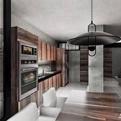 Comedores de estilo  por Heftye Arquitectura
