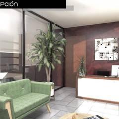 Salas de estilo  por Heftye Arquitectura