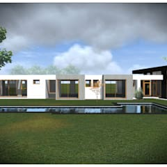 Single family home by Vicente Espinoza M. - Arquitecto