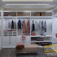 Dressing room by Archeffect,