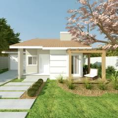 Casas de campo  por Cíntia Schirmer | Estúdio de Arquitetura e Urbanismo