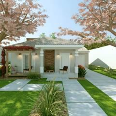 منزل ريفي تنفيذ Cíntia Schirmer | arquiteta e urbanista , كلاسيكي