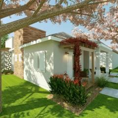 Casas de campo de estilo  por Cíntia Schirmer | arquiteta e urbanista, Clásico