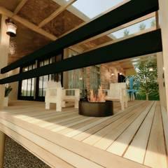 منزل ريفي تنفيذ Cíntia Schirmer | Estúdio de Arquitetura e Urbanismo