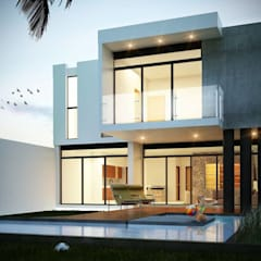 Single family home by EMME Arquitectos, Modern