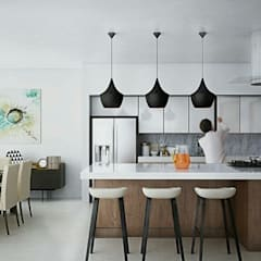 Built-in kitchens by EMME Arquitectos, Minimalist