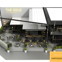 KTS. LÊ THANH KỲ:  Quán bar & club by Thiết kế xây dựng Pro