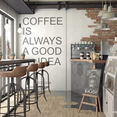 Coffee is always a good idea!: Cocinas de estilo  por Más Interorismo, Industrial
