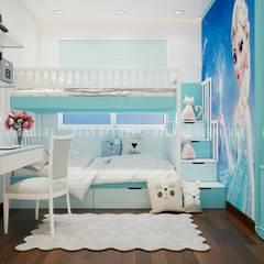 Kleines Schlafzimmer von Công ty TNHH Nội Thất Mạnh Hệ