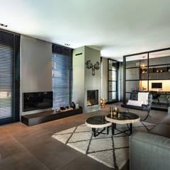 Living room by Bongers Architecten