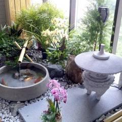 Jardines zen de estilo  por 大地工房景觀公司