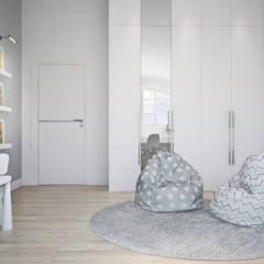 Детская комната для девочек: Спальни для девочек в . Автор – Оксана Котова