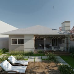 منزل ريفي تنفيذ Cíntia Schirmer | arquiteta e urbanista