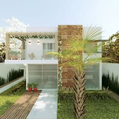 Cíntia Schirmer | Estúdio de Arquitetura e Urbanismo의  테라스 주택