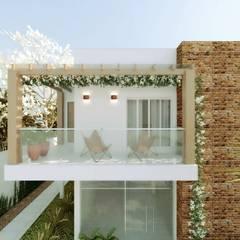 CASA VF: Casas  por Cíntia Schirmer | Estúdio de Arquitetura e Urbanismo