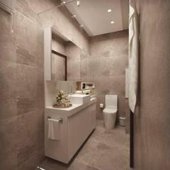 Baños de estilo  por Cíntia Schirmer | arquiteta e urbanista
