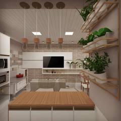 CASA PE Cozinhas coloniais por Cíntia Schirmer | arquiteta e urbanista Colonial