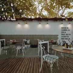 Bars & clubs by Cíntia Schirmer | arquiteta e urbanista, Colonial