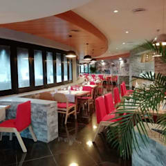 Restaurantes de estilo  por MoisesMedinaDesign