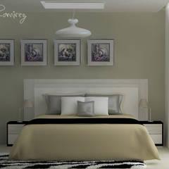 DISEÑO DE DORMITORIO: Dormitorios de estilo  por Estudio R&R