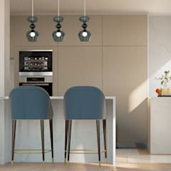 Kitchen units by Inêz Fino Interiors, LDA