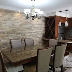 Cocinas pequeñas de estilo  por Spazio Diseño de Interiores & Arquitectura