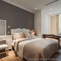 Hi+Design/Interior.Architecture. 寰邑空間設計의  작은 침실